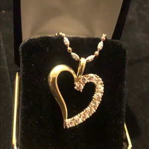 """Jewelry - """"HEART PENDANT ONLY"""" - 10K GOLD"""